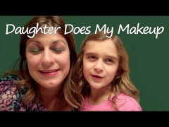 Karli does my makeup…again!