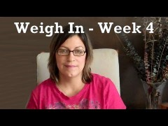 Week 4 Weigh In – First Month Results
