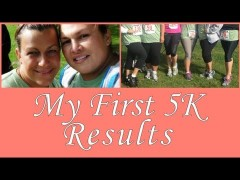 My first 5K race results