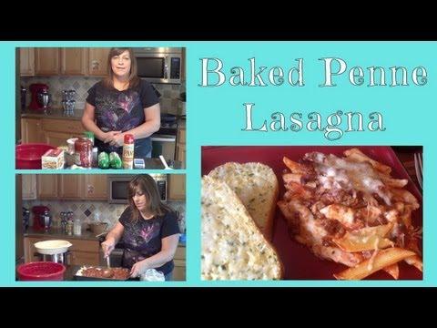 Baked Penne Lasagna