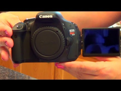 Canon T3i and making Easter cake balls
