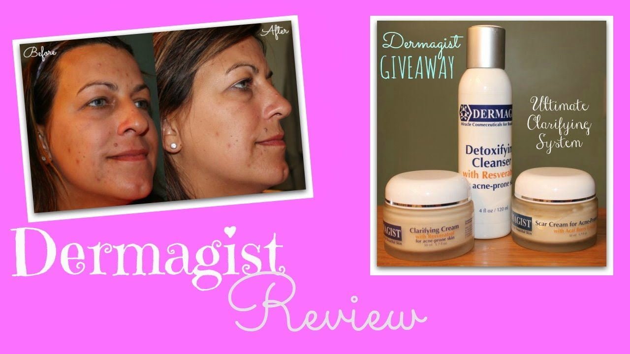 Dermagist Ultimate Clarifying System Review & Giveaway!!
