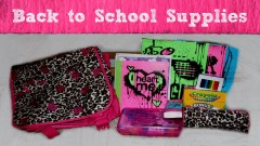 Back to School Supplies Haul