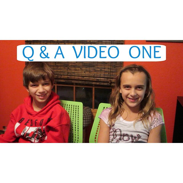 We answered your questions in today's video! It's in 2 parts ?
