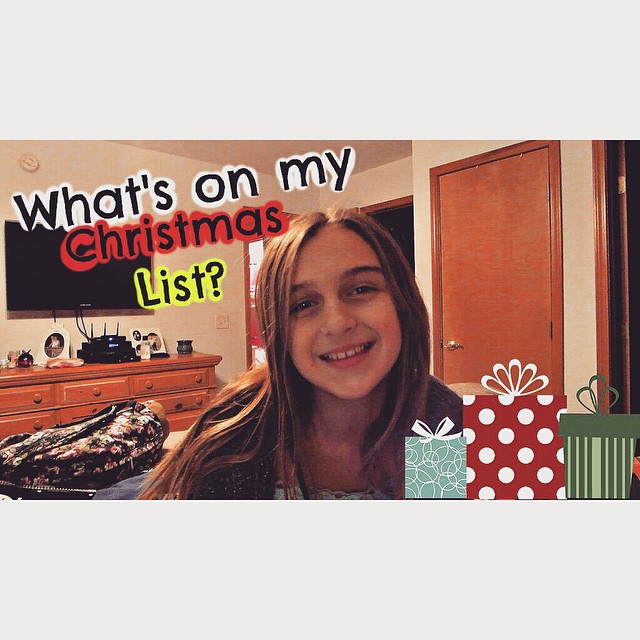 See what's on Karli's Christmas List this year!