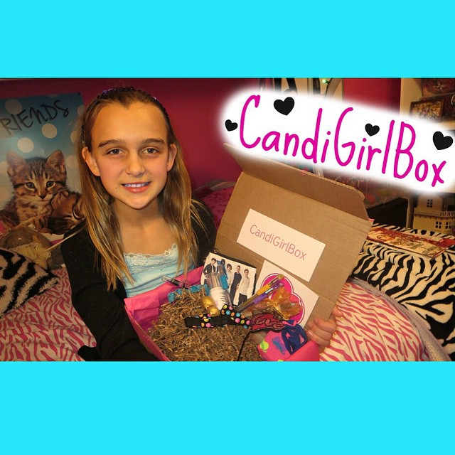 Today's video is Karli sharing the amazing goodies she got in her CandiGirl Box! @candigirlbox #subscription #box #girly #fun