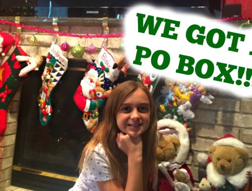 Send us mail…we got a PO Box!