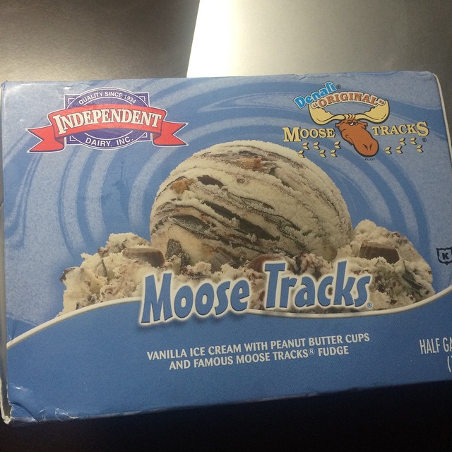 This is happening. It's been one of those days. #icecreammakesitbetter