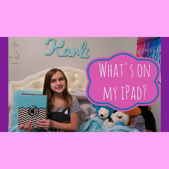 Karli shares what's on her iPad finally since she had so many requests for it!! Don't miss our Throwback Thursday video too if you haven't watched it yet. It was posted later than usual on Thursday! ?