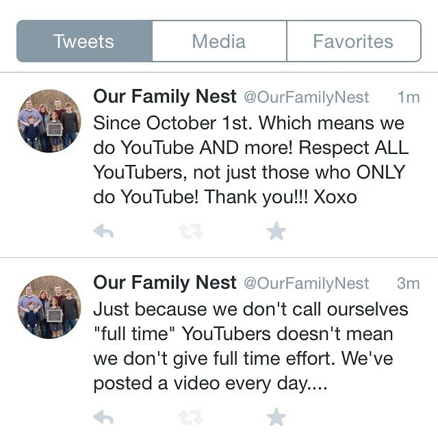My Twitter rant for the day! #respect #youtube #notaseasyasitlooks. Follow us on Twitter!