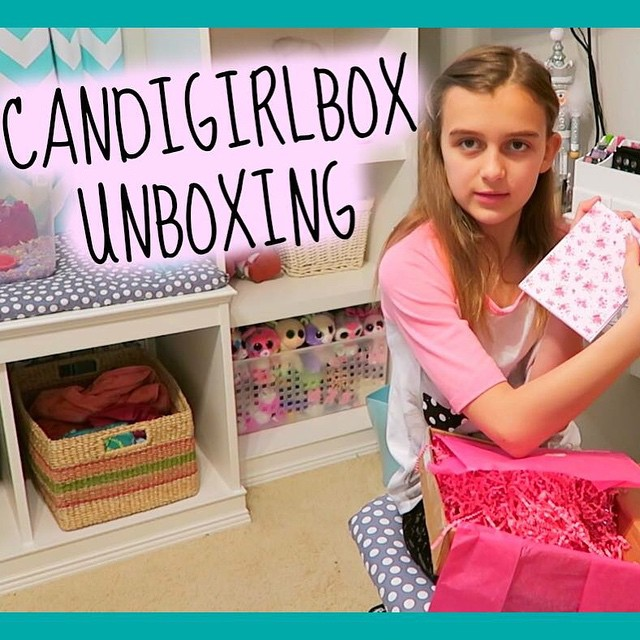 Karli got another @candigirlbox! See what's inside this one! ?