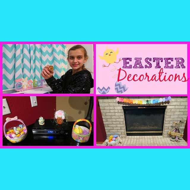 Decorating the house for Easter...don't miss today's video.