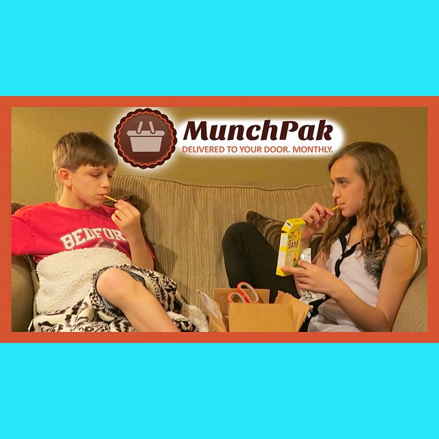 Check out our Munchpak Unboxing! The kids loved tasting the different snacks from around then world. Enter our Giveaway to win a box of your own from @munchpak
