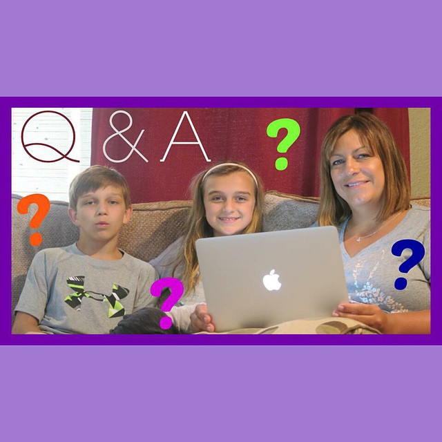 We answered your questions!!! Check out today's video!