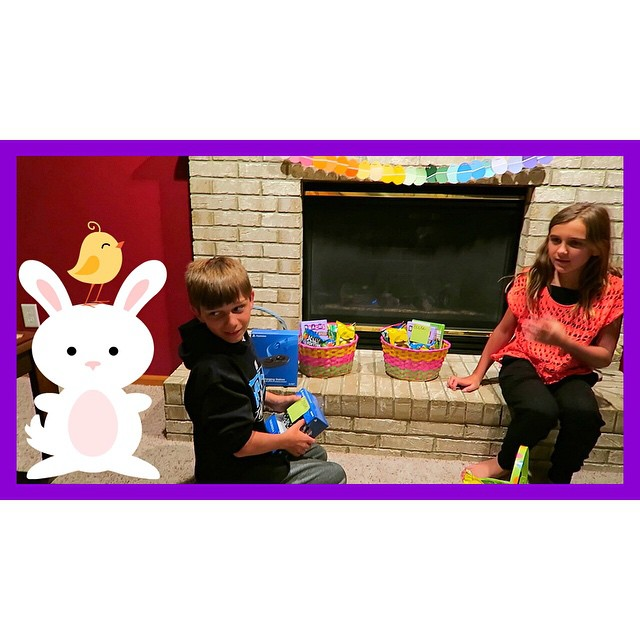 Forgot to share yesterday's video here! Lots of people were asking what the kids got from the Easter Bunny! Here ya go!